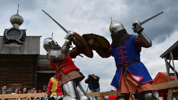 Средневековье и вторая мировая война: в Хохловке прошел фестиваль «Большие маневры»