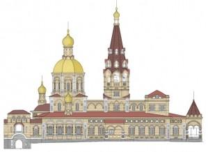 Успенская церковь должна стать более высокой и нарядной, нежели в начале века. И, в общем-то, другой.