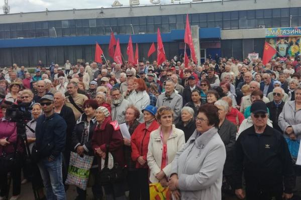 Даже в дачный сезон пенсионеры продолжат участвовать в митингах за возврат пособий и соцвыплат