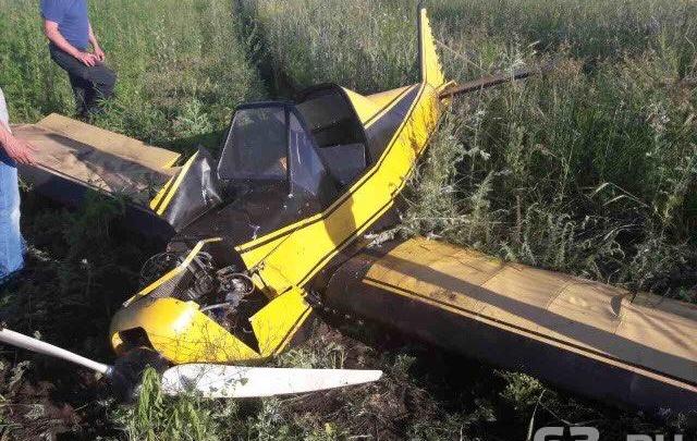 Самолёт, который потерпел крушение под Тольятти, был самодельным