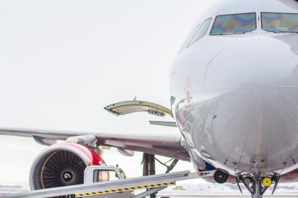 Самолет сел в Казани из-за требований транспортной безопасности