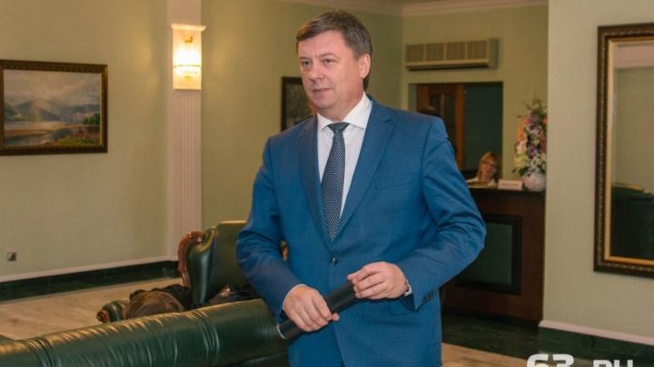 Мэр Самары Олег Фурсов переходит на работу в правительство области