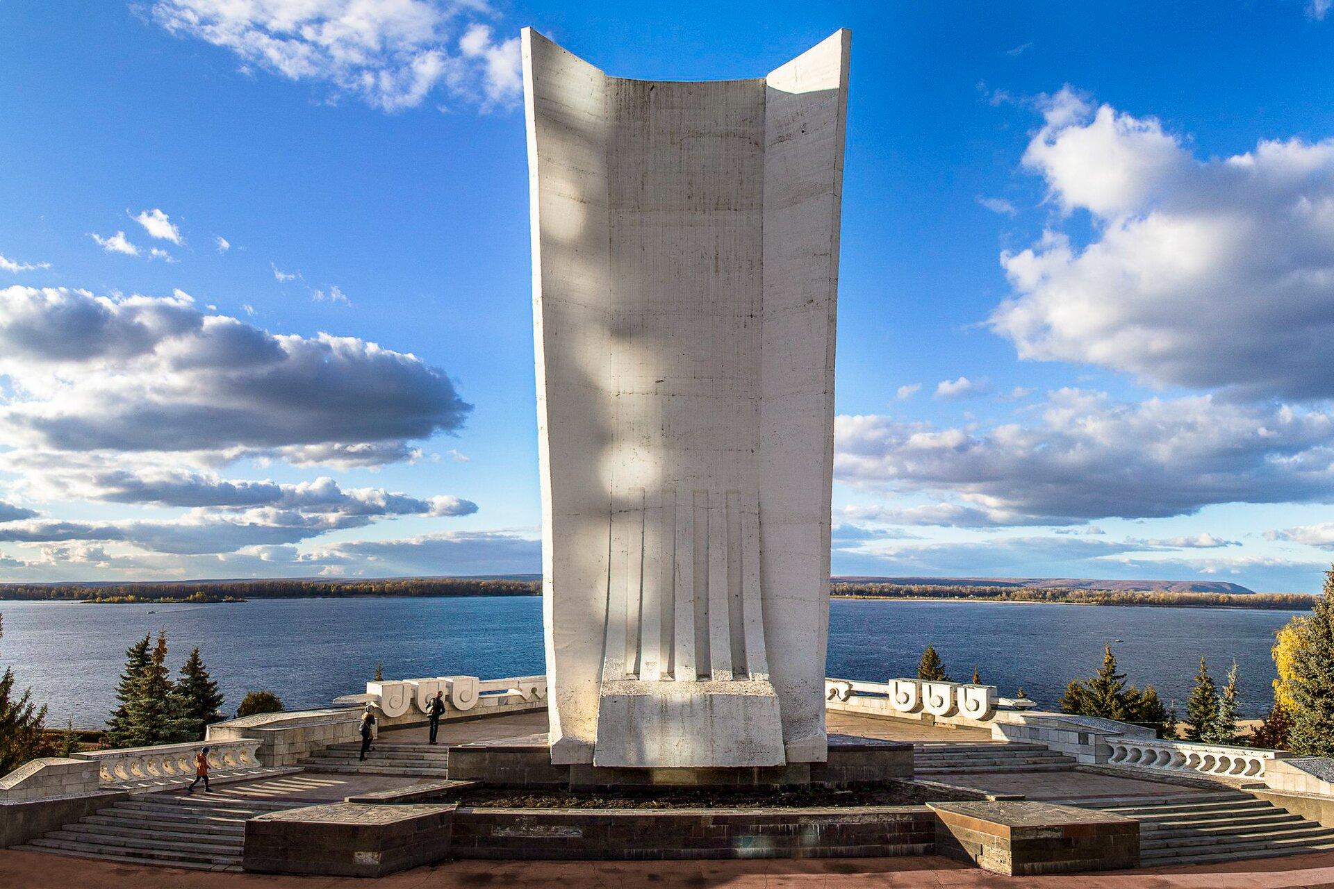Монумент «Ладья» к весне 2018 года преобразится
