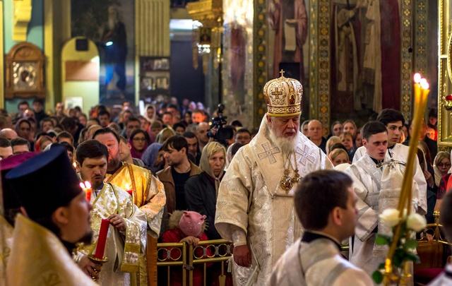 В Самаре прошли ночные божественные литургии в честь Пасхи