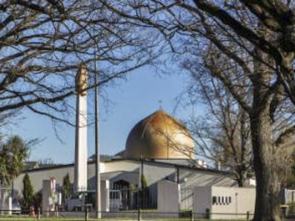 одна из мечетей в городе Крайстчерч, на которую было совершено нападение//Zuma/ТАСС