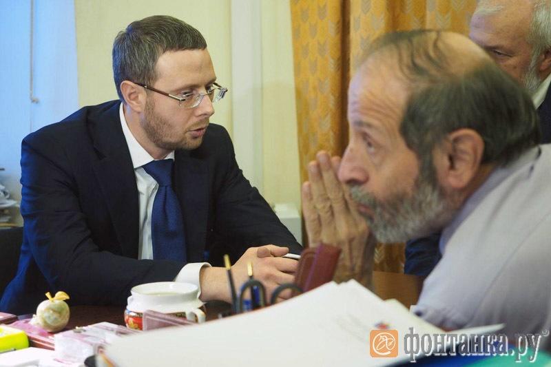 Максим Шаскольский, Борис Вишневский и Михаил Амосов