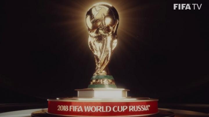 ФИФА опубликовала официальную заставку ТВ-матчей ЧМ-2018