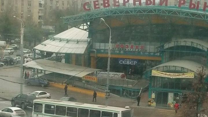 Ложная тревога: Северный рынок эвакуировали из-за забытой сумки