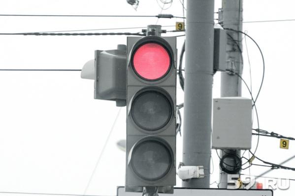 Светофоры заработают только к 17:00
