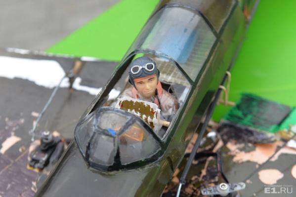 В соревнованиях принимали участие копии боевых самолётов времен Великой Отечественной войны.