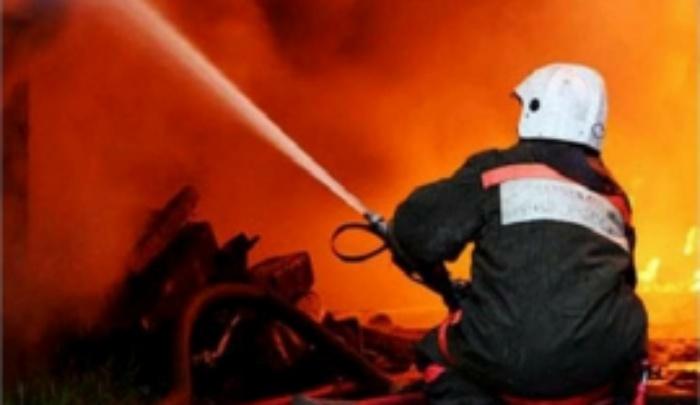 Ночью во время пожара в собственном доме погибла пенсионерка