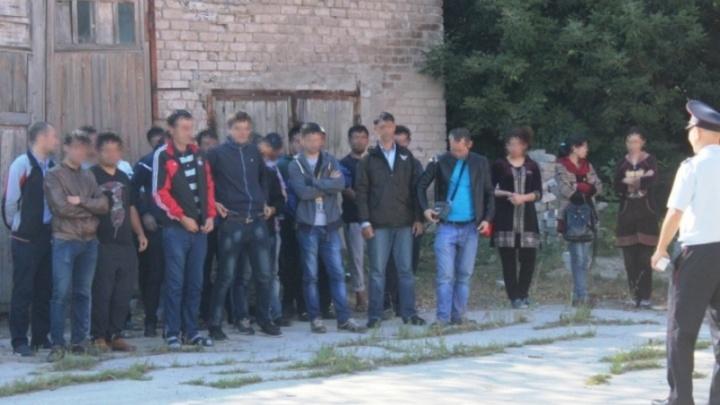 Сотрудники полиции и ФСБ остановили под Самарой автобус с нелегалами