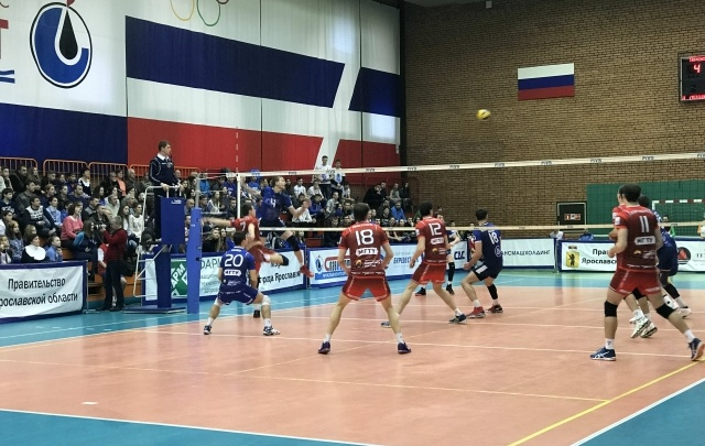 В правительстве Ярославской области отметили развитие волейбола в регионе