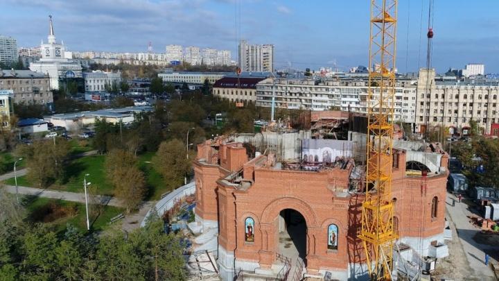 Храм Александра Невского станет светлым пятном центра Волгограда