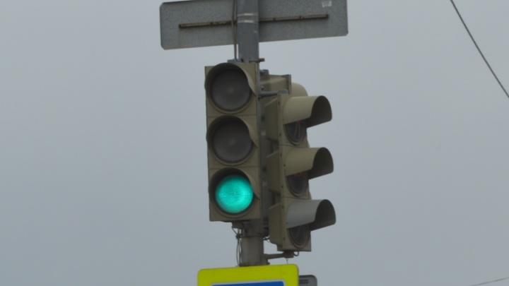 В центре Перми отключился светофор