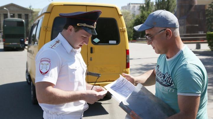 В Волгограде продолжаются рейды по отлову отмененных маршруток