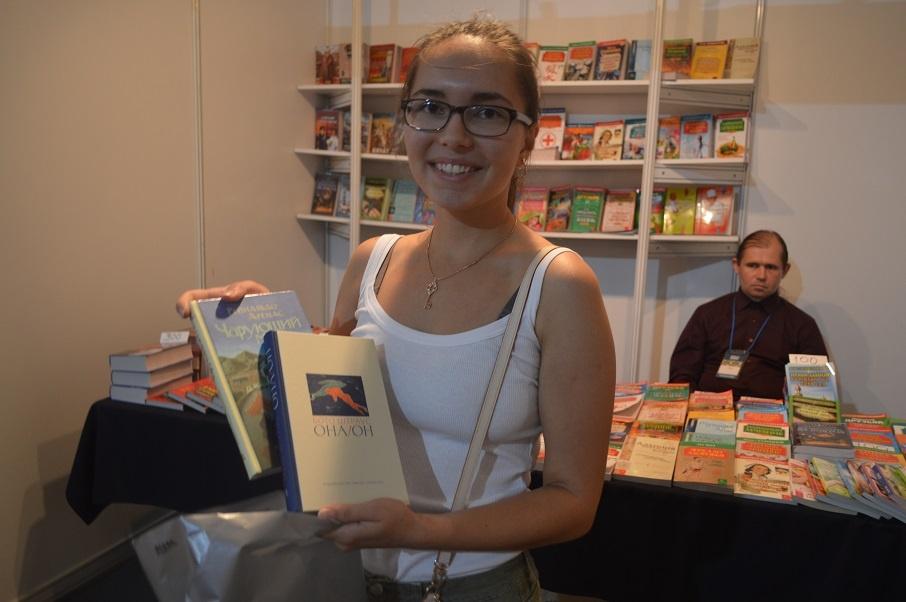 Ольга любит немецкий язык и литературу, и поэтому ее выбор пал на немецкого писателя
