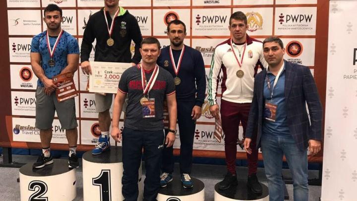 Дончане завоевали золото и бронзу международного турнира по греко-римской борьбе