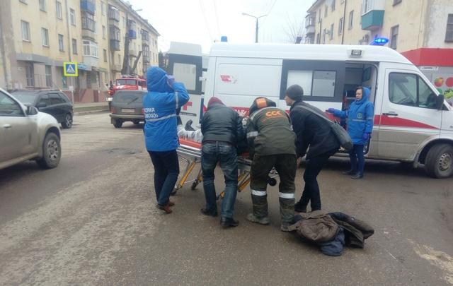 В Новокуйбышевске водитель BMW сбил нетрезвого пешехода