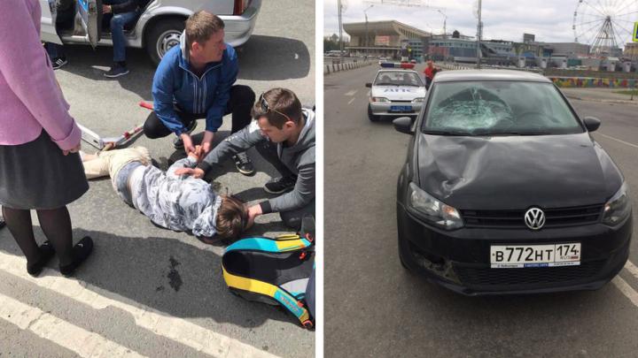 Мальчика, сбитого в Челябинске женщиной на иномарке, готовят ко второй операции
