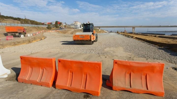 В Центральном районе Волгограда открыли новую дорогу