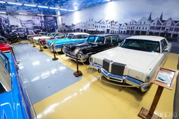 Главные экспонаты музеяETS Classic Car —классические американские авто.