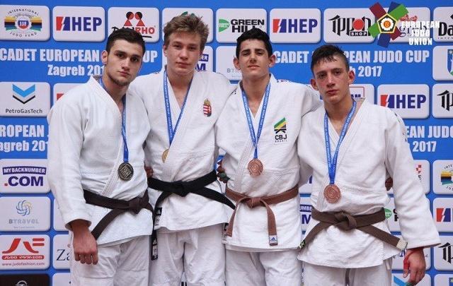 Челябинский дзюдоист завоевал серебро Кубка Европы