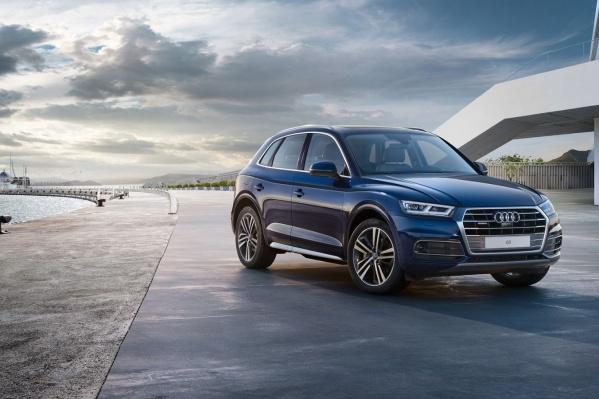"""Новый Audi Q5 презентуют в """"АЦ Космонавтов"""" уже в эти выходные."""