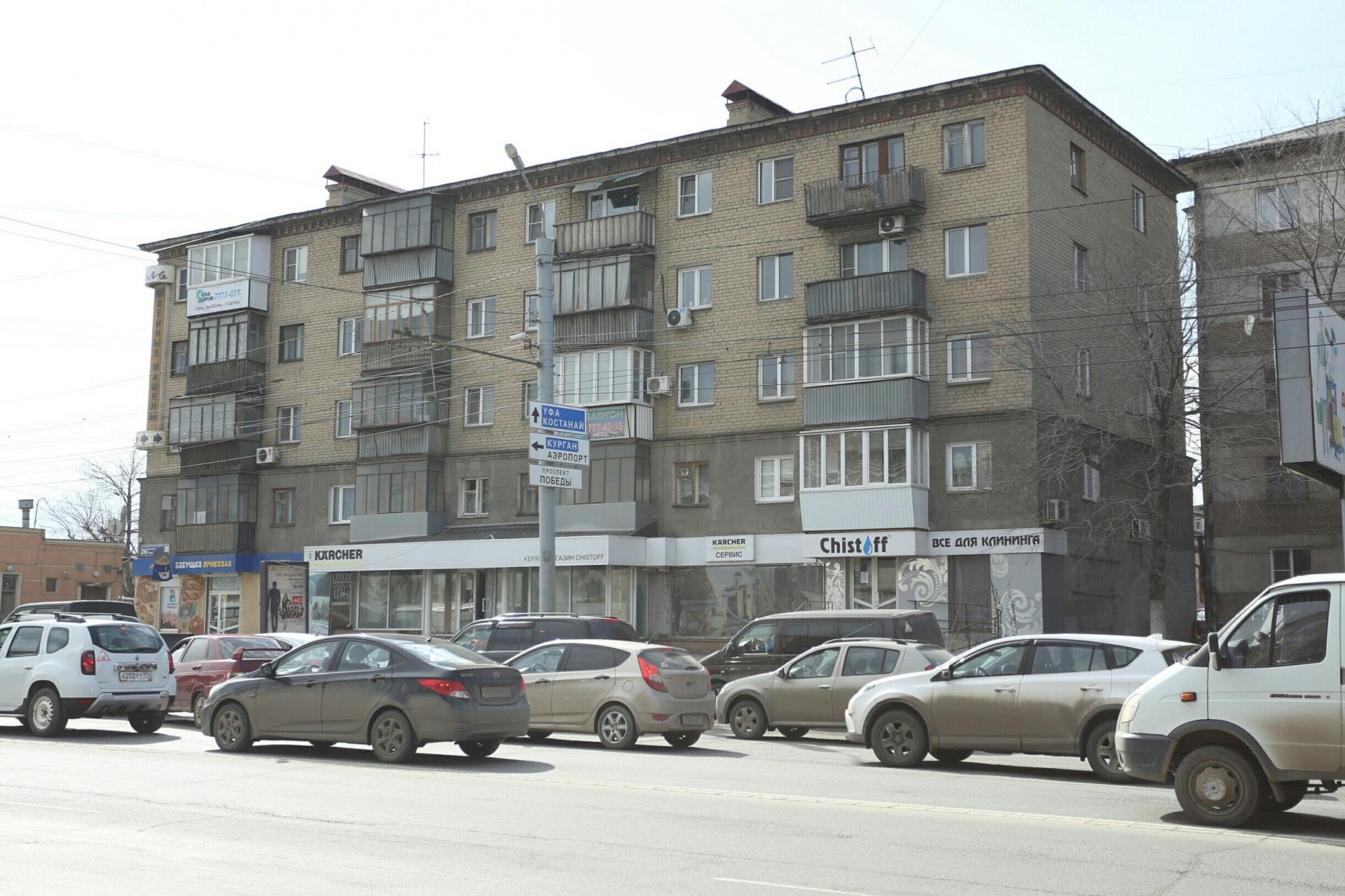 Так сейчас выглядит дом на Свердловском проспекте, 26