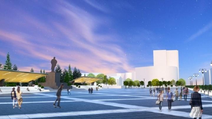 Реконструкцию главной площади Челябинска отложили на ближайшую пятилетку