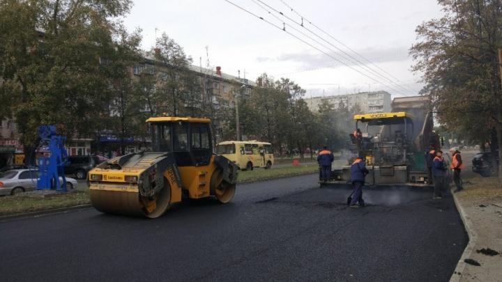 «Машины едут по встречке»: челябинцы опасаются пробок из-за ремонта улицы Гагарина
