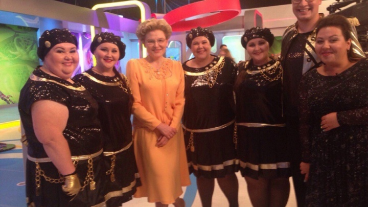 «Полные, но здоровые»: «Балет толстых», Марина Федункив и Боня снялись в программе Елены Малышевой