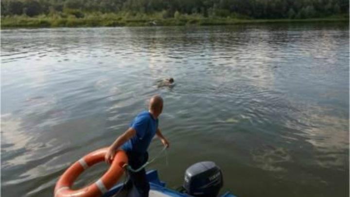 В Ростовской области выпавшего из лодки мужчину на берег доставили спасатели