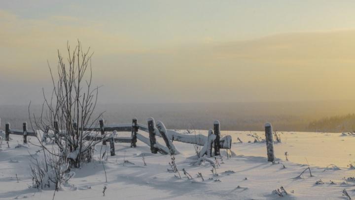 В четверг в Поморье будет снежно и ветрено