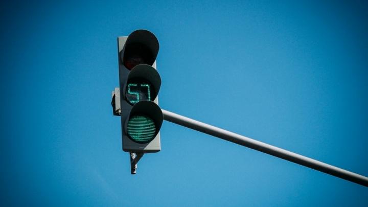 На трёх перекрёстках в Челябинске отключили светофоры