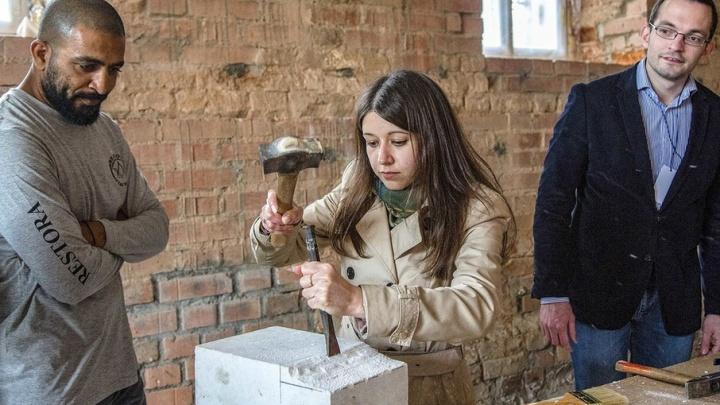 Был казармами и руинами: в Ростове восстанавливают Конюшенный двор
