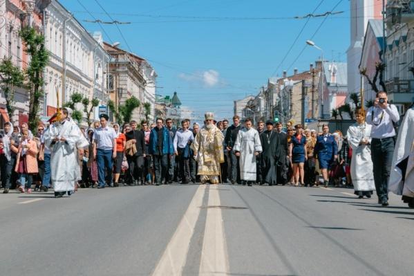 Крестный ход пройдет по Некрасовской, Куйбышева и Венцека
