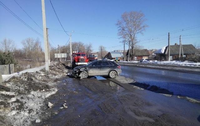 В Перми два человека пострадали в ДТП на улице Промышленной