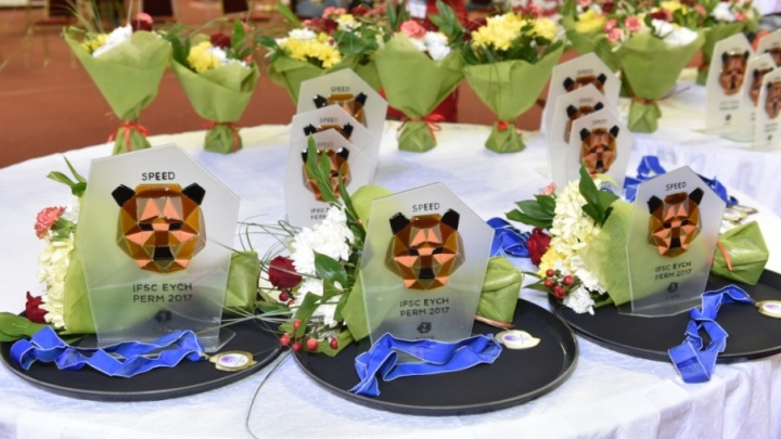 Соревновались в скорости и ловкости: в Перми выбрали победителей первенства Европы по скалолазанию