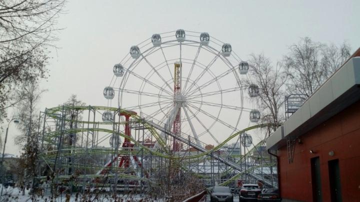Колесо обозрения на Цветном бульваре планируют запустить в канун Нового года