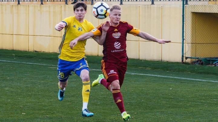 ФК «Ростов» одержал победу над командой «Дукла» из Чехии