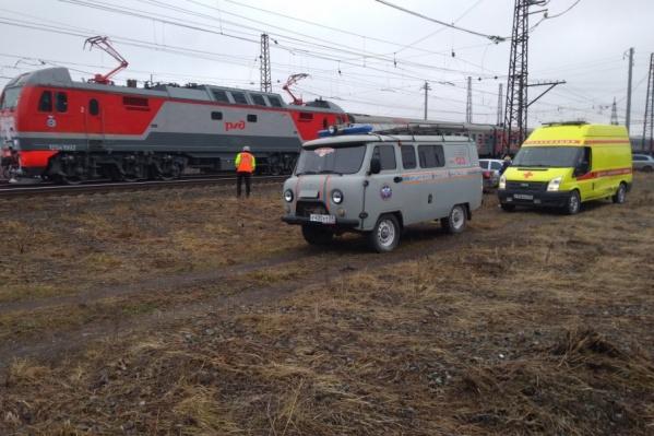 Поезд остановился за несколько километров до Кунгура