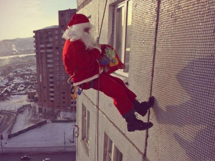 Дед Мороз вполне может оказаться не сказочным персонажем, а вором-домушником.