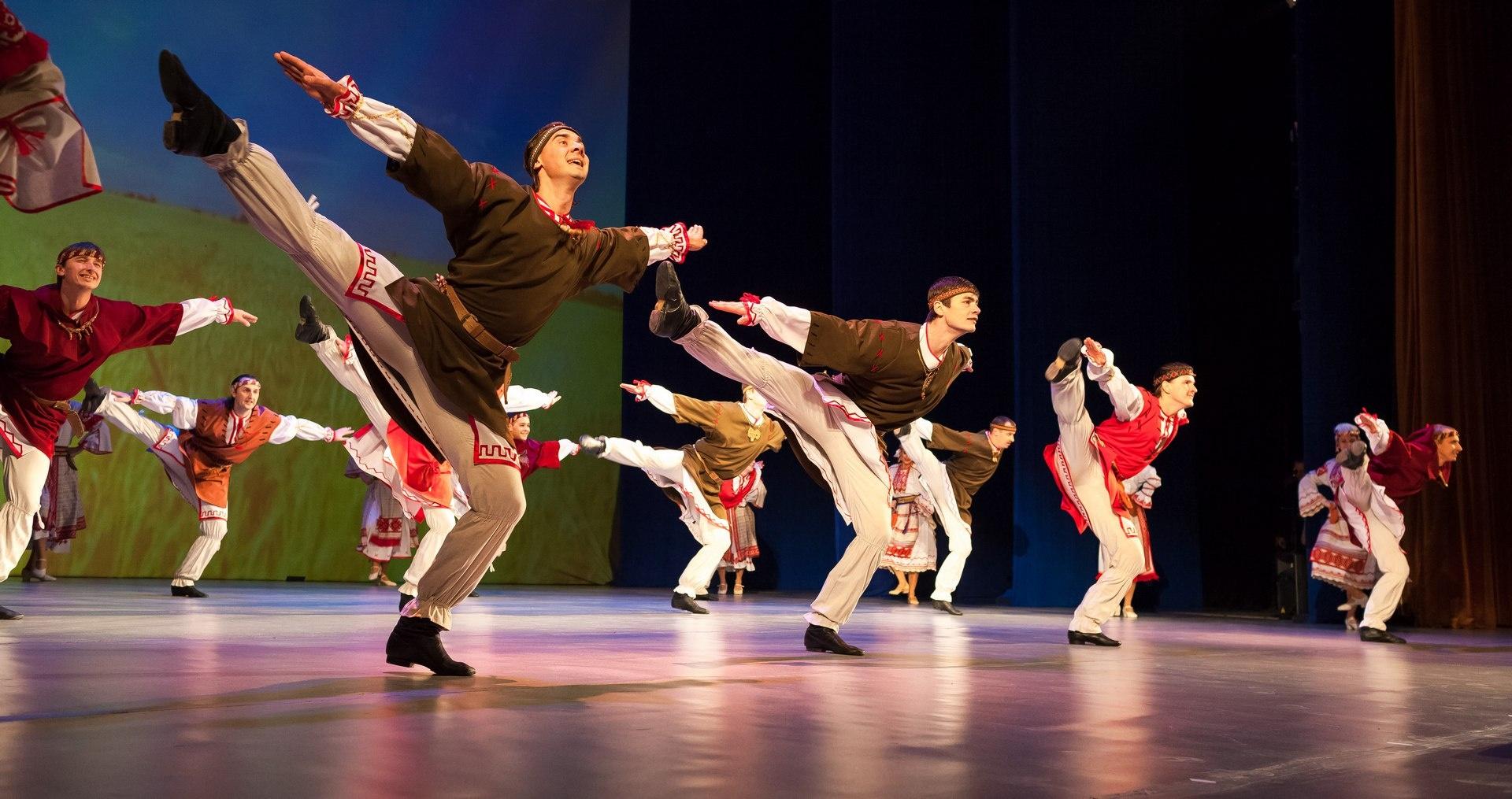Свою программу ансамбль посвятил единству славянских народов