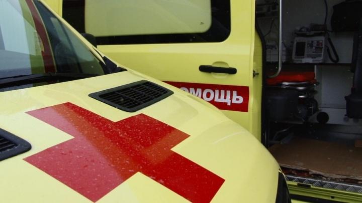 В Тольятти на хоккейном матче шайба попала болельщику в лицо