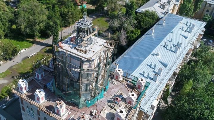 В Волгограде восстанавливают башню архитектора Масляева