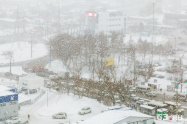 В Самаре и области пройдет небольшой снег