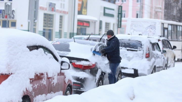Ярославль накрыла снежная волна: онлайн-трансляция