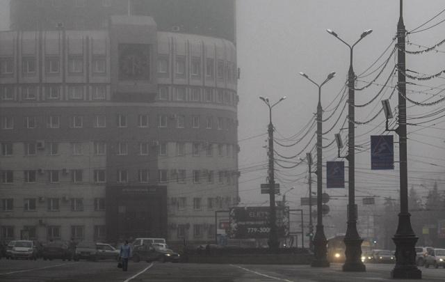 Южноуральцев предупредили о смоге и ночных морозах