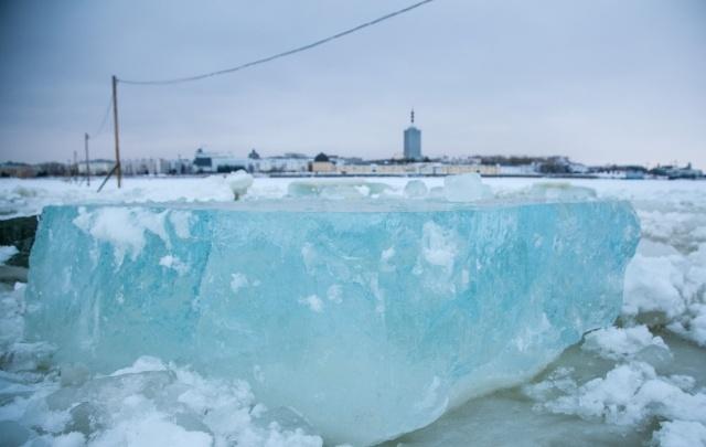 Разрушение льда на реках Архангельской области начнется раньше сроков